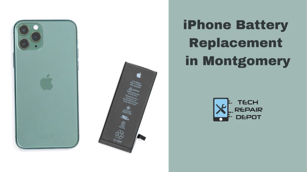 iPhone Battery Replacement in Montgomery