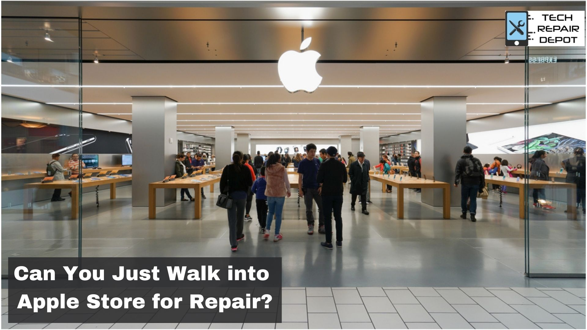 Can You Just Walk into Apple Store for Repair?